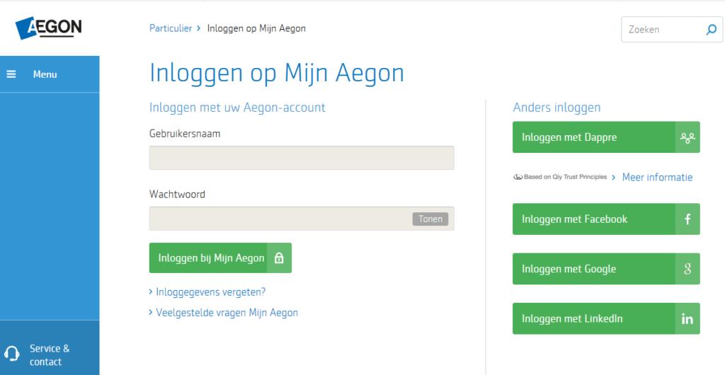 mijn.aegon.nl